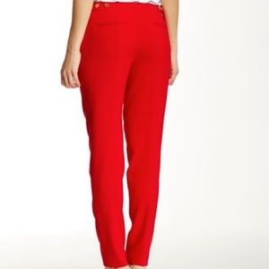 Calvin Klein Red Highline pants in plus size 18w